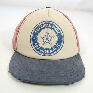 """Accessories - SALE -- NWOT: """"American Made"""" Adjustable Hat"""